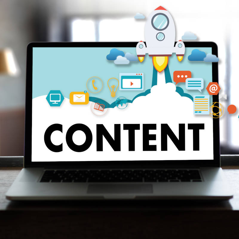 We create content across all platforms
